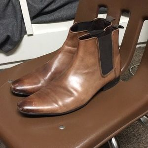 Frank Wright Brown Leather Chelsea Boots (11)